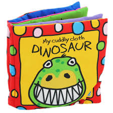 baby books busy baby cloth book cuddly dinosaur by horne baby books