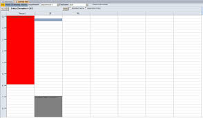 Vacation Accrual Spreadsheet Microsoft Access Employee Vacation Tracking Database Template