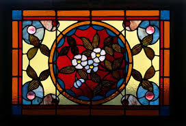 antique stained glass transom window fid13019 antique american stained glass windows 541 310 9027