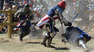 medieval times the armored combat league makes sport out of