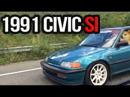 1991 honda civic si hatchback honda civic 1991 si pulls d16a6
