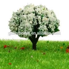 white plastic trees architectural model small plastic trees 3 5