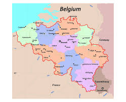 belguim map maps of belgium detailed map of belgium in tourist map