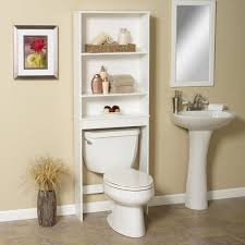 bathroom wicker bathroom storage with pedestal sink storage