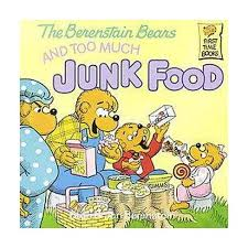 berenstein bears books the berenstain bears and much junk food time books