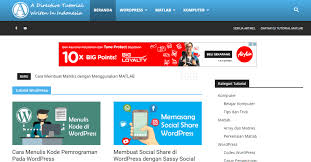 cara membuat halaman utama web dengan php cara membuat home page halaman depan wordpress advernesia