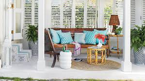 Patio 21 Ultimate Small Patio by 65 Beachy Porches And Patios Coastal Living