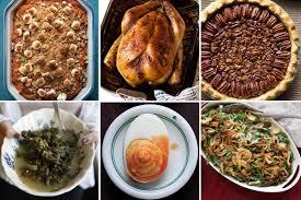 thanksgiving non traditional thanksgiving menu