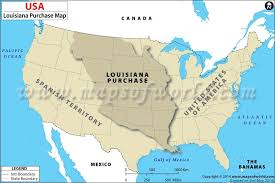 usa map louisiana purchase the louisiana purchase map of louisiana purchase