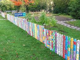best garden fences wonderful pallet fence ideas for backyard