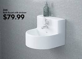 sinks for small spaces new ikea catalog sinks tiny bathrooms and tiny houses