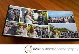 flush mount wedding album our wedding albums rick bouthiette photography