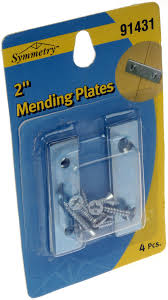 Home Decor Liquidator Mending Brace 2x1 2 Zinc 6dor91431 0 72 Toys Housewares