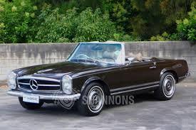 mercedes 280sl sold mercedes 280sl convertible auctions lot 25 shannons