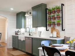 Kitchen Wall Design Ideas Container Gardening Ideas From Joanna Gaines Hgtv U0027s Decorating