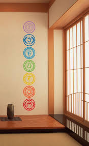 Wall Decor Home by Amazon Com 7pcs Set Chakras Symbols Removable Vinyl Wall Stickers