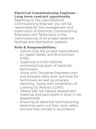 commissioning engineer electrical commissioning engineer doc engineer competence