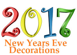 Happy New Year Decorations 2017 New Years Eve Decorations Finderists