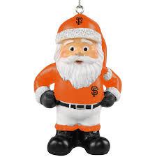 san francisco giants coach santa ornament mlbshop