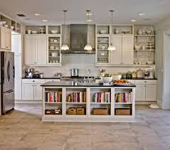 traditional white kitchen cabinets kitchen attrcative kitchen design gallery island with book