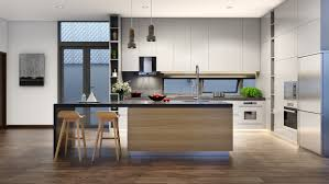 Contemporary Kitchen Designs Color Combo Inspiration Wood Interiors With Grey Accents