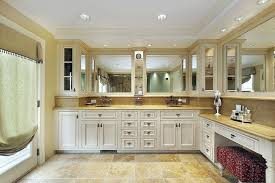 L Shaped Bathroom Vanity by 46 Luxury Custom Bathrooms Designs U0026 Ideas