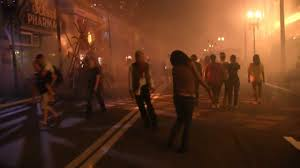 the walking dead scare zones at halloween horror nights 23