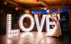 large light up letters light up marquee letters hire rio lounge