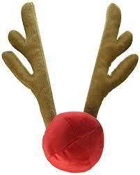 Christmas Reindeer Car Decoration Kit by Amazon Com Reindeer Antlers And Red Nose Car Kit Free Christmas
