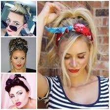 how to wear a bandana with short hair cool bandana hairstyle ideas haircuts hairstyles 2017 and hair