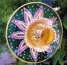 Glass Garden Decor 97 Best Glass Yard Art Images On Pinterest Glass Garden Art