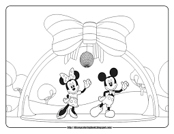 mickey minnie pluto coloring pages and mouse free color sheets