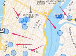 Map Of Nba Teams Hidden Iphone Map Shows Your Location Business Insider