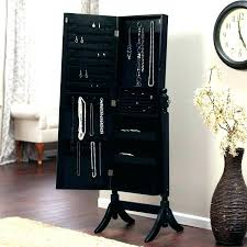 free standing jewellery armoire uk jewelry armoire with mirror living locking mirror jewelry you have