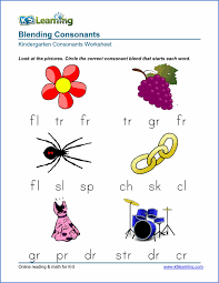 free preschool u0026 kindergarten consonants worksheets printable