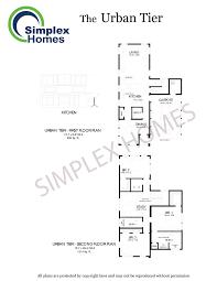 simplex homes urban tier modern modular homes