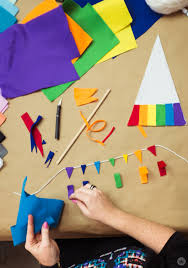 Rainbow Pride Flag Rainbow Flag Diy For Lgbtq Pride Month Think Make Share