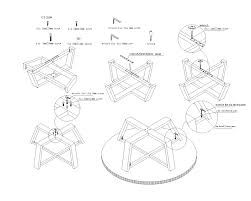 Couch Drawing Step By Step Assembly Instructions