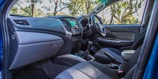 mitsubishi triton 2012 interior 2016 mitsubishi triton gls review caradvice