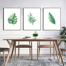 Dining Room Prints Online Get Cheap Tropical Art Prints Aliexpress Com Alibaba Group