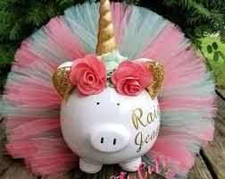 piggy bank party favors piggy bank etsy