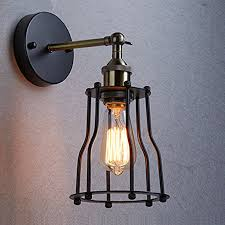 popular industrial wall sconce cage buy cheap industrial wall