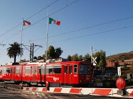 San Diego Public Transportation Map by Blue Line San Diego Trolley Wikipedia