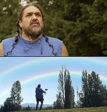Double Rainbow Meme - double rainbow guy featured in microsoft commercial techeblog
