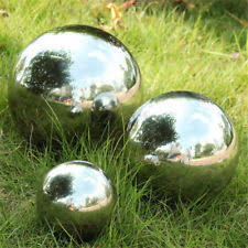 stainless steel statues lawn ornaments ebay