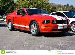 ford mustang gt white stripes 2008 ford mustang gt stock image image of auto bumper 6050209