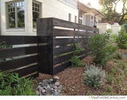 mad for mid century modern fence ideas from austin a metal isnt me