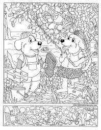 halloween seek and find printables hidden picture coloring pages 2017 with