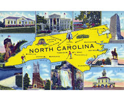 Map Of North Carolina Cities Maps Of North Carolina State Collection Of Detailed Maps Of