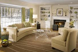 livingroom decorating ideas light gray square tuffet cozy beige